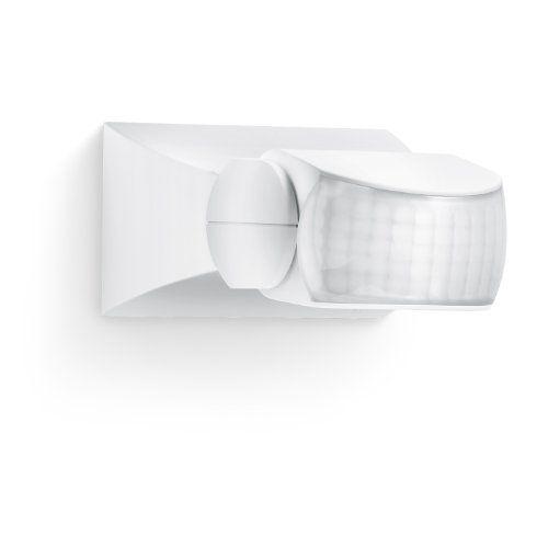 Steinel Eclairage de Sécurité Extérieur IS 1 PVC 15,3 x 9 x 7,6 cm: Détecteur de mouvement d'une portée pouvant aller jusqu'à 10 m, avec un…