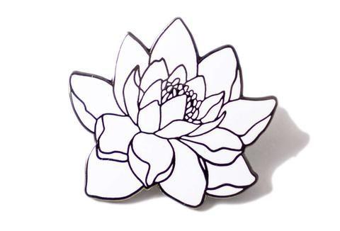 Lotus Flower Pin
