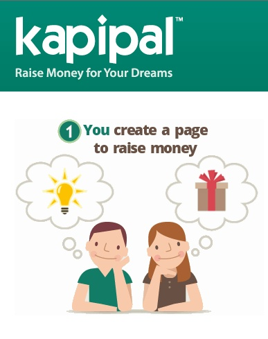 KAPIPAL --- This site allows you to raise money through several small contributions