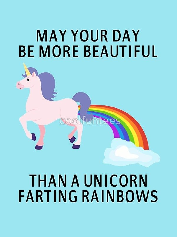 Farting Unicorn Gif : farting, unicorn, Beautiful, Unicorn, Farting, Rainbows', Greeting, Coolfuntees, Quotes, Funny,, Quotes,, Fairies