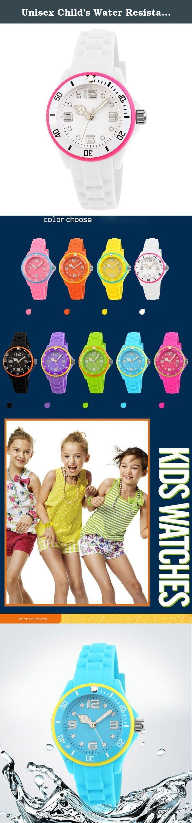 Unisex Child's Water Resistant Watches Boys and Girls Quartz Watch Students Outdoor Sports Watch Christmas Gift Watch (White). A variety of styles you can choose in our store ! Package Included: 1 x Watch Please Note: 1. Actual color may vary from picture due to computer settings. 2. Find store front of Sunny world, more surprises are waiting for you! Dear Buyer, Thanks for your continuous support to our store, and we are always striving to improve ourselves in terms of service, quality...
