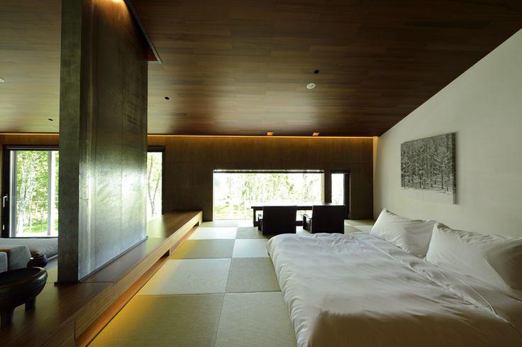 Washitsu Villa || Zaborin 坐忘林 | Architect: nA Nakayama Architects | Photographer: Ken Goshima