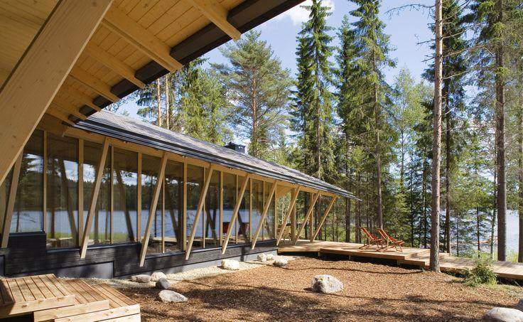 Lakeside Villas in Anttolanhovi, Finland