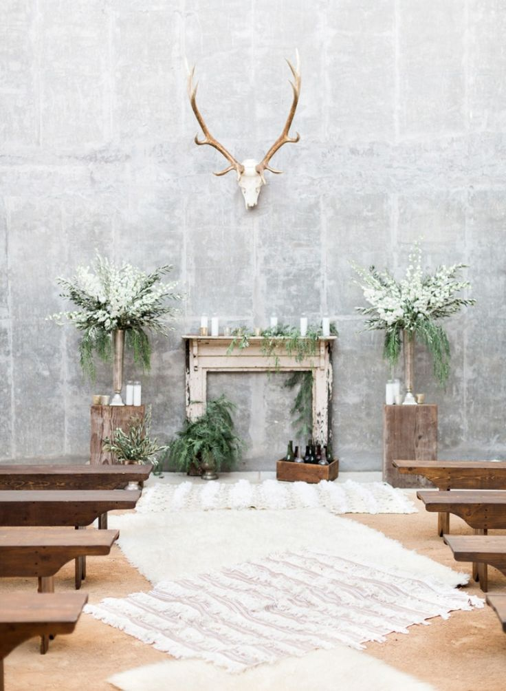 Trending - Protea Filled Industrial Wedding