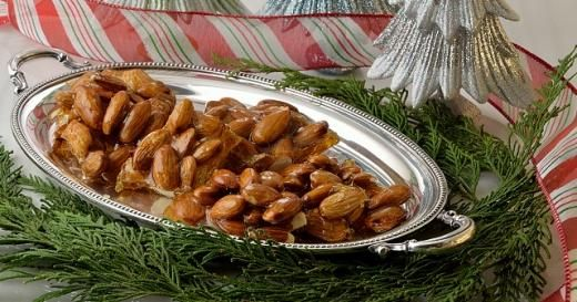 """Croccante di Natale: butter to grease sheet pan, 3c sugar, ½c water, 3c whole unblanched almonds, lemon, cut in 1/2.  Gather up your ingredients click on this picture & away you go! Enjoy this festive italian holiday treat! """"Buon Natale"""""""