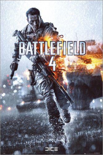 """Poster von """"Battlefield 4 - Cover"""""""
