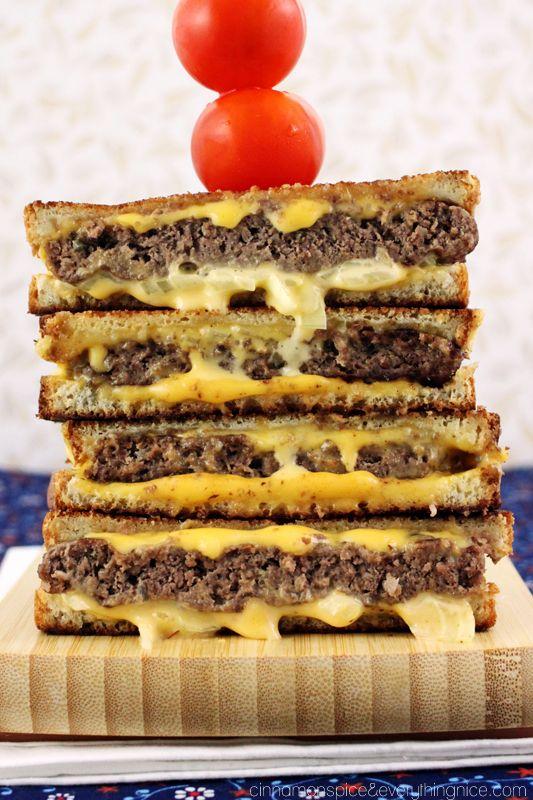 Award Winning 'Grilled Cheese' Burgers