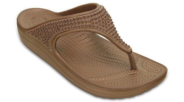 Crocs Womens Sloane Diamante Flip Flop | Clothing, Shoes & Accessories, Women's Shoes, Sandals & Flip Flops | eBay!