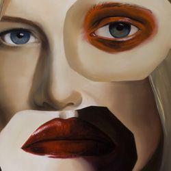 Sarah (oil canvas - 100x 140cm - 2014)