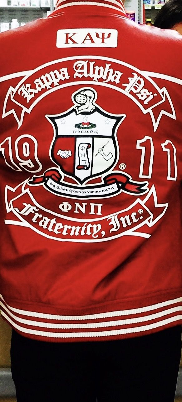 KAPPA ALPHA PSI FRATERNITY, INC. JACKET#φηπ/καψ#1911