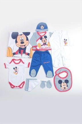 Erkek Bebek Mickey Mouse 10'lu Hastane Çıkışı 4265 DİSNEY | Trendyol