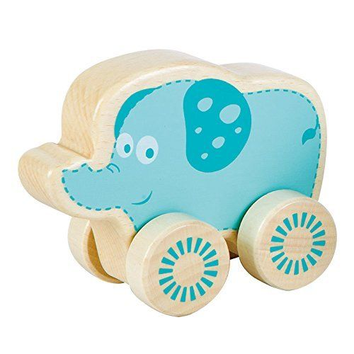 Fat Brain Toys Nature Buddies Wooden Rollers   Elephant. #Brain #Toys #Nature #Buddies #Wooden #Rollers #Elephant