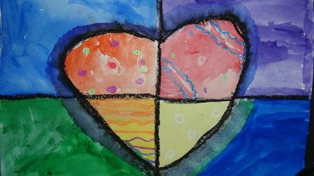 "From exhibit ""Warm Hearts"" by Hailey6857 (Art ID #28818830)  grade 4 Artsonia Art Museum :: Artwork by Hailey6857"