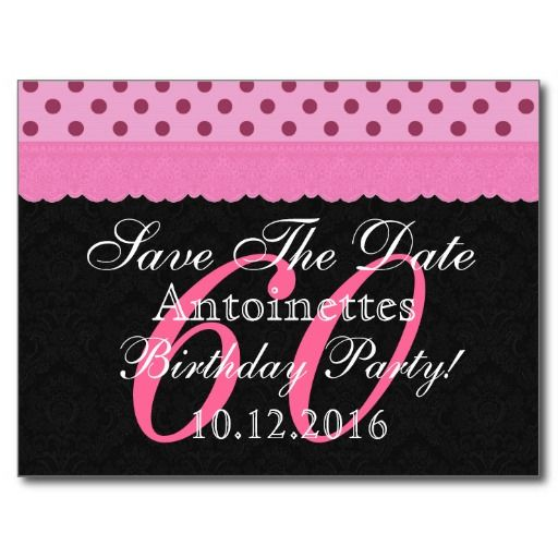 38 best 60th Save the date ideas images on Pinterest Dates Save