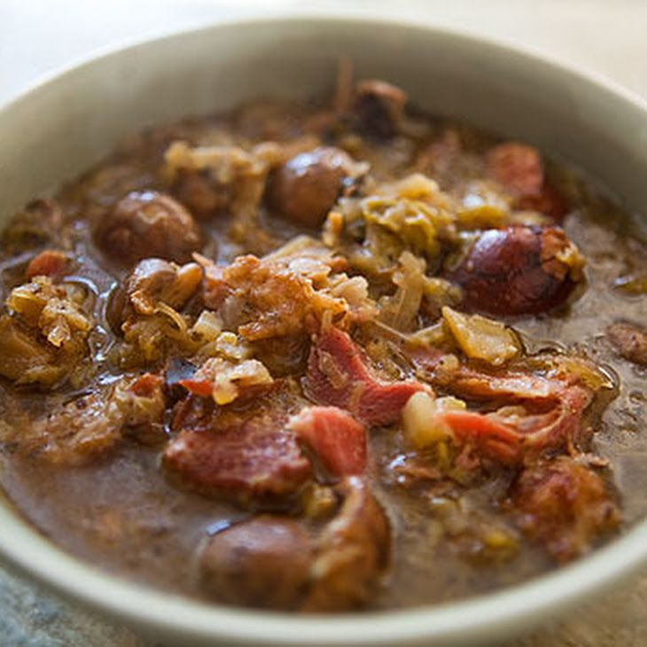 Polish Hunter's Stew Recipe
