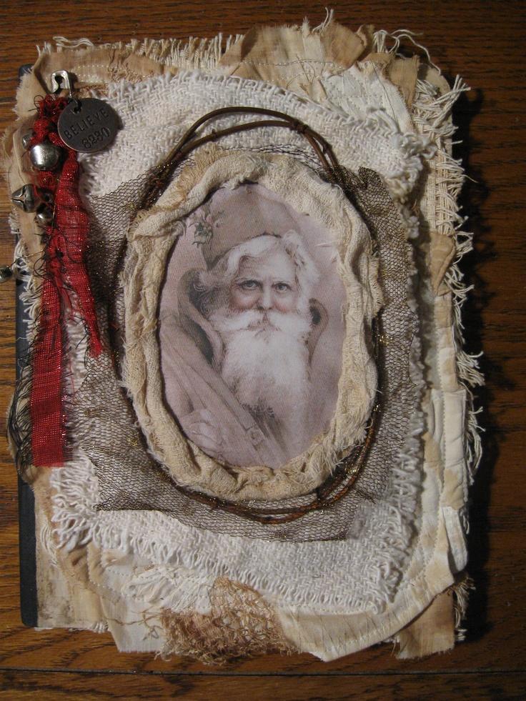 Santa....by Nellie Wortman