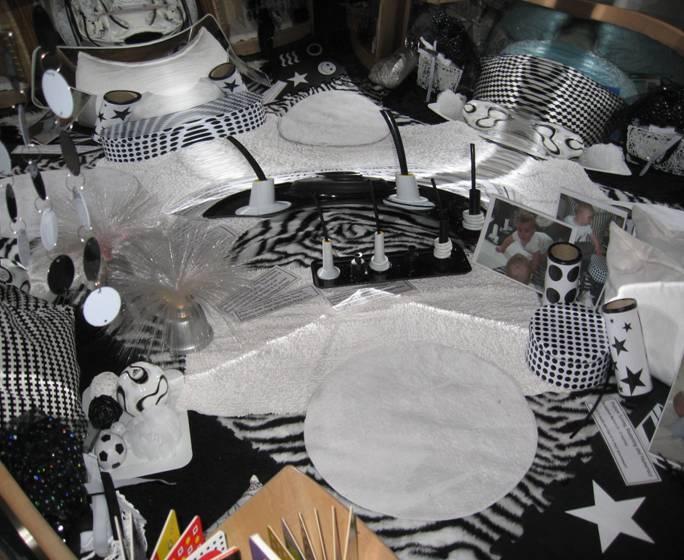 Black & white area!