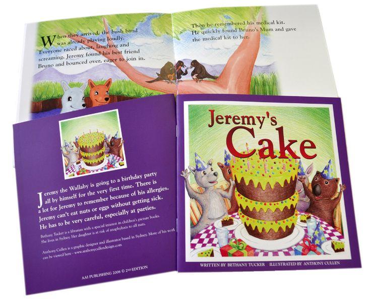 Jeremy's Cake was .50 - Allergy & Anaphylaxis Australia