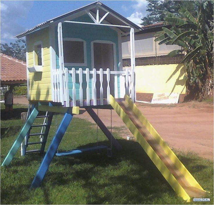 CASINHA DE BONECA DE MADEIRA diversão brincadeira de menina | Na Internet