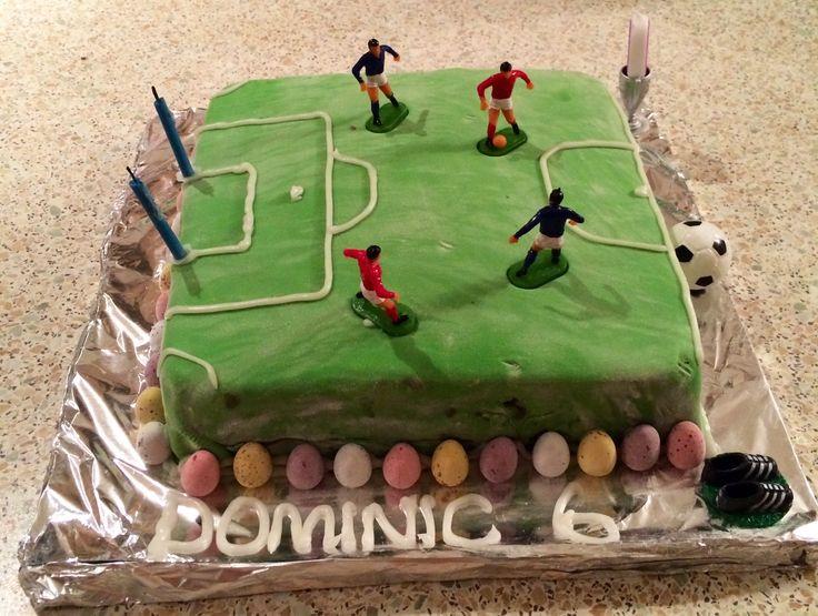 Dominic's 6th birthday cake