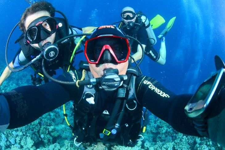 RedSea, Scuba Diving, Hurgada, Egypt Selfie