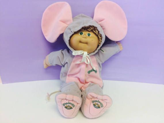 Vintage Cabbage Patch Kids Official Clothing Mouse Outfit