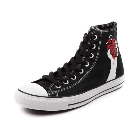 punk rock sneakers #greenday #americanidiot #punkrocksneakers