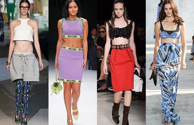 Minitop Tendenze moda primavera estate 2015: top corti - Tendenze primavera estate 2015: la moda per la bella stagione - alfemminile