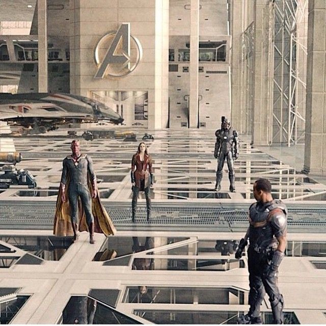 THEIR NEW AVENGERS FACILITY IS SO COOL