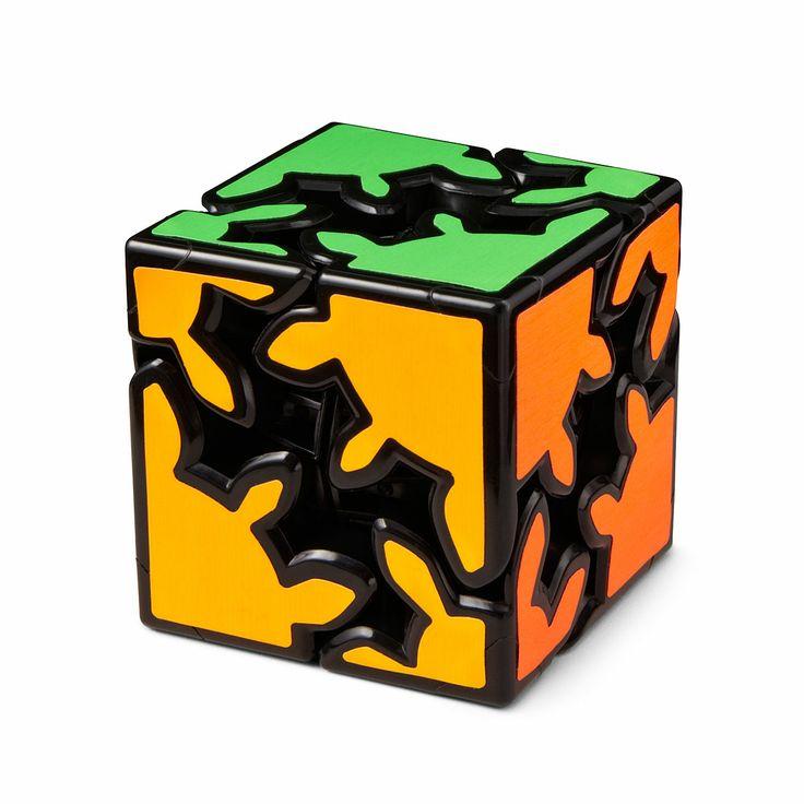 MEFFERT'S GEAR CUBE   brain teaser puzzle, desk accessory   UncommonGoods