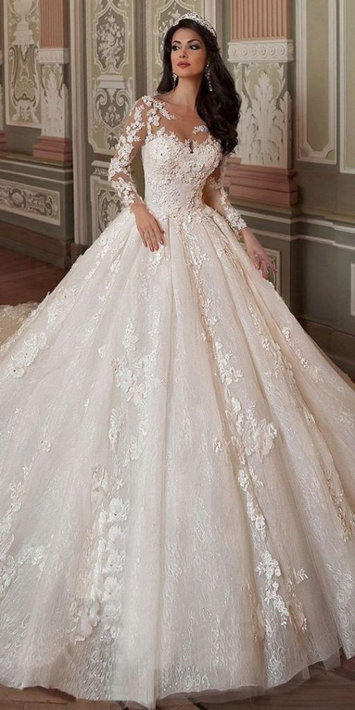 41 Ways To Dress Like A Fashion Editor Modeled By Us: 41+ Most Popular Ways To Wedding Dresses Ball Gown Lace