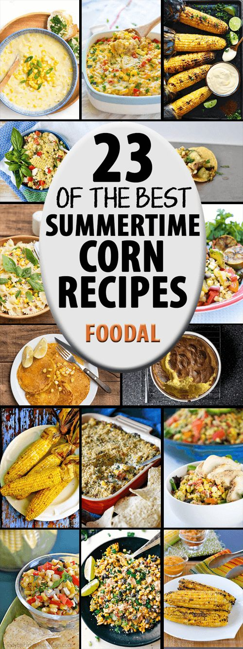 Love summertime sweet corn? From salsa to pie, we've got you covered. Check out our round up for 23 of the best recipes from our favorite bloggers that feature this seasonal ingredient. Read more now on Foodal.