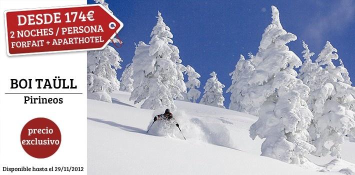 ¡Oferta Especial para los amantes del Ski! Aparthotel Augusta 4* con desayuno + Forfaits incluidos para el Puente de Diciembre. ¿Te lo vas a perder?