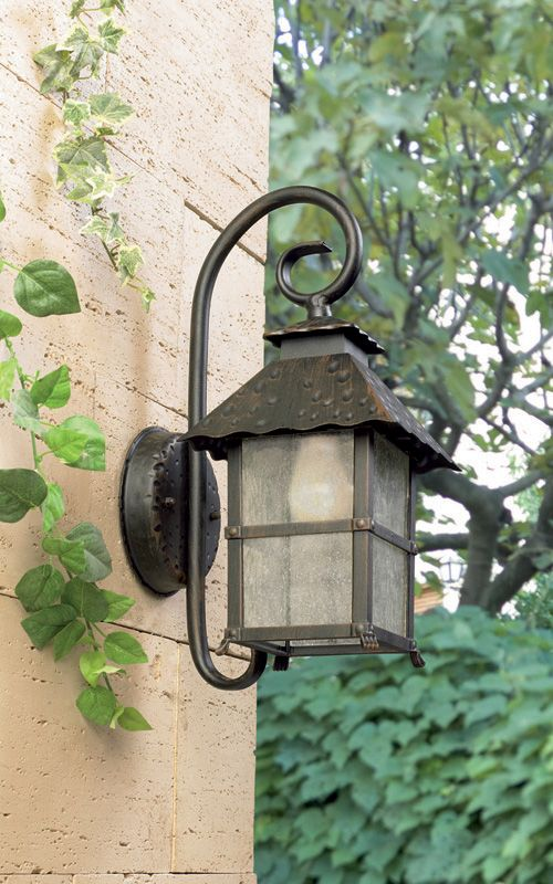 Persefonne rustic cottage coach exterior lantern by Leds C4 Outdoor, Spain « Lighthouse Nelson www.nelsonlighting.co.nz