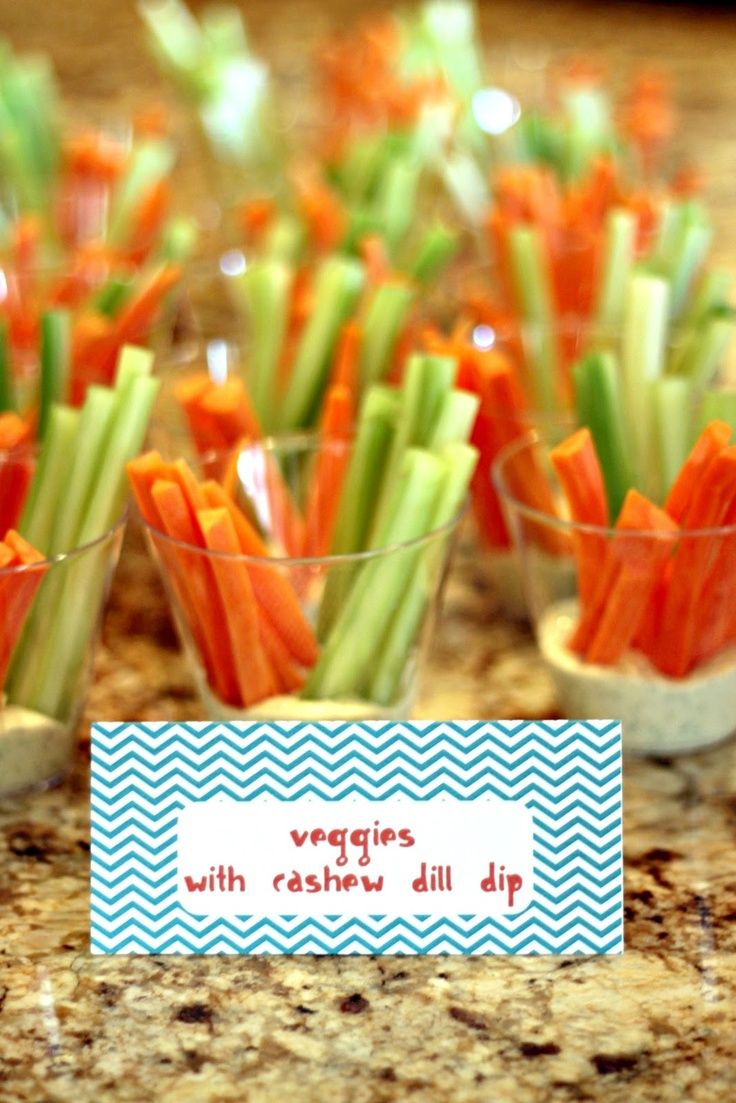 Domestic Charm: Max's Monster Birthday Party Just display veggies like this not the dip