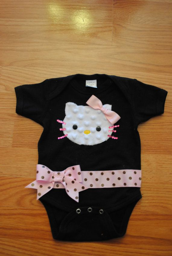 Hello Kitty Baby Onesie. When I have a little girl, my shawer request from Aunt Lisa will be...