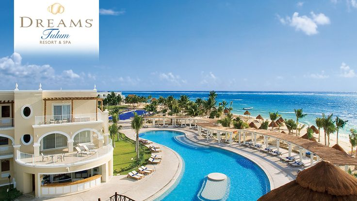 Riviera Maya - Dreams Tulum Resort and Spa - This breathtaking hacienda-style resort provides unlimited luxury amenities and so much more.