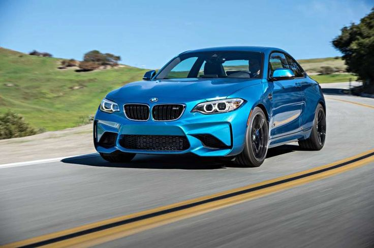 BMW says aluminum axles and key suspension components shaved at least 17 pounds off the ground-hugging M2's curb weight. Photo: BMW