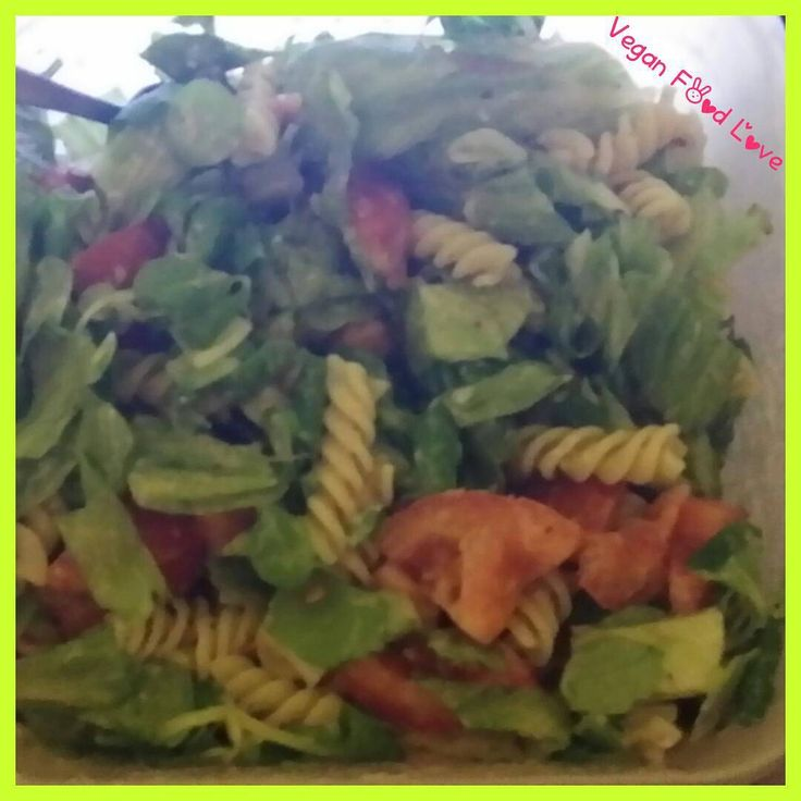 Yesterday noodle Salad #vegan #veganfoodlove #vegansalad #salad