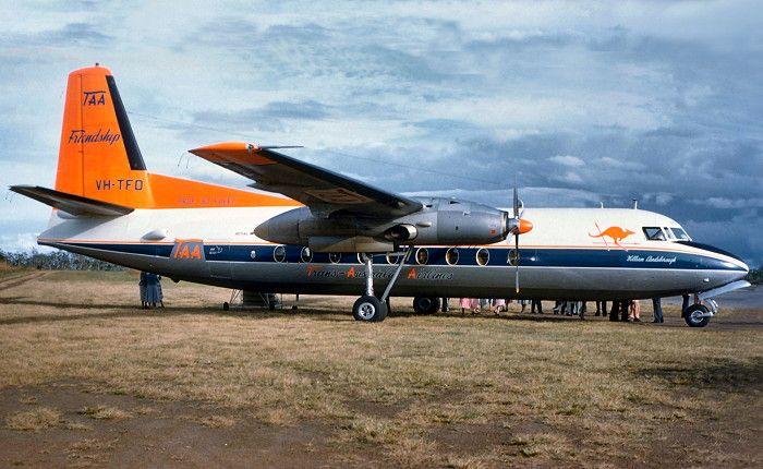TAA Fokker F 27-100 (VH-TFD)