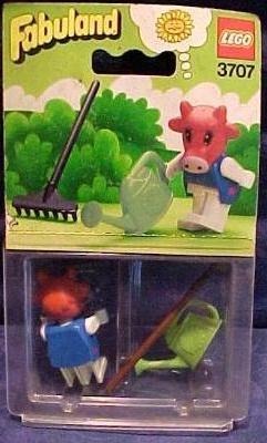 Fabuland, Clover the Cow, 1982. #LEGO #toys #vintage #80s #1980s