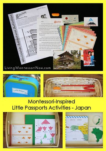 Montessori-Inspired Little Passports Activities – Japan (Plus a Giveaway!) Giveaway is for a 3-month subscription to Little Passports