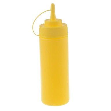 12OZ Extrusion plastique des pots de confiture Spice Jar Salade bouteille de ketchup bouteille - USD $ 1.99