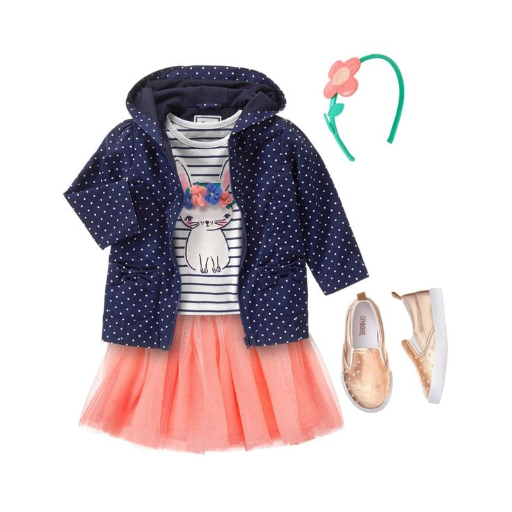 Toddler Girl's Bunny Hop Outfit by Gymboree