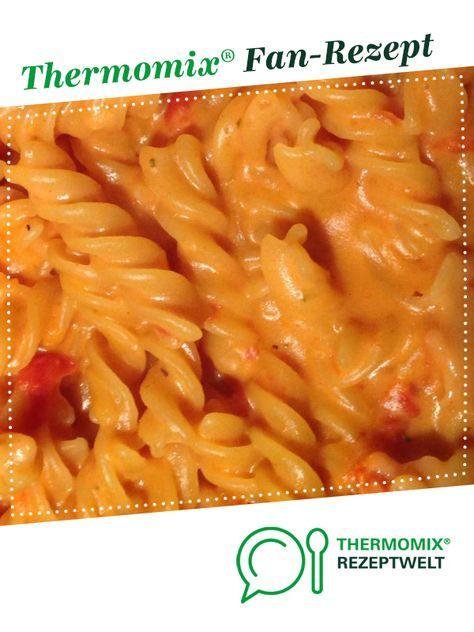 Pâtes à la crème de tomates   – Kochen und Backen