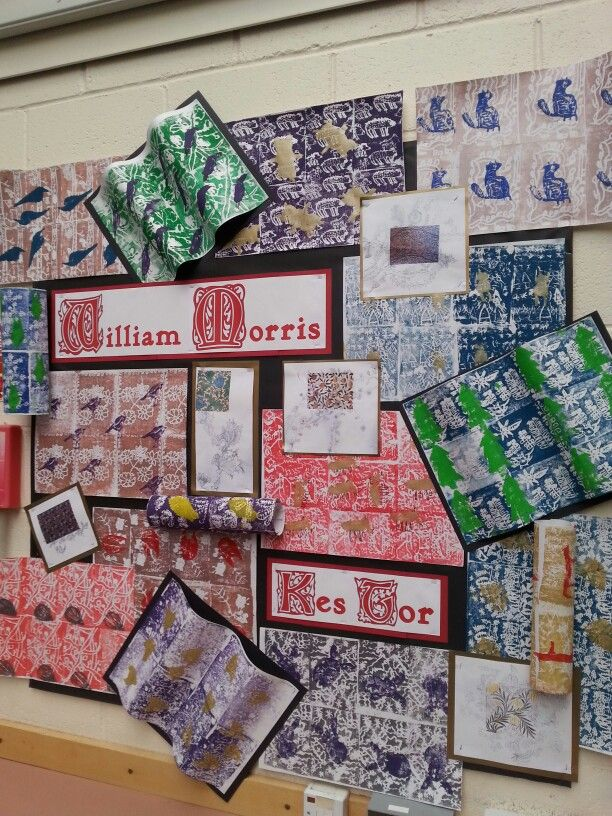 Classroom Decoration Wall ~ William morris art projects to try pinterest