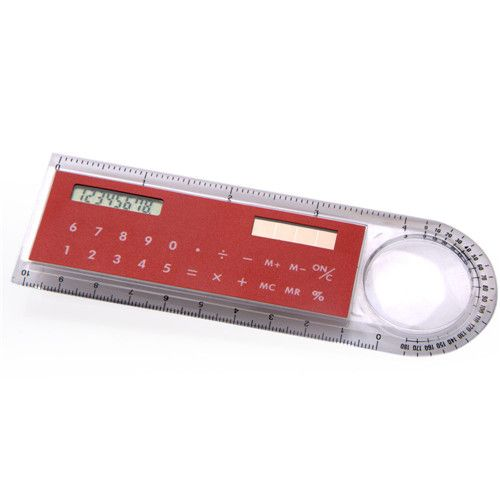 Solar Power 8 Digit Ruler Calculator with Magnifier HY-2024. Email: sales5@gifthanyu.com Whatsapp: 86-18042051913