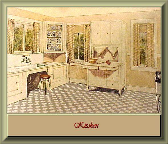 225 Best 1920   1930s Kitchen Images On Pinterest   Vintage Kitchen, Retro  Kitchens And 1920s Kitchen