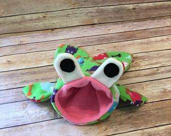 Paño grueso y suave pequeño erizo Cuddle saco dormir / vinculación bolsa también perfecta para las ratas y otros animales pequeños - acurrucarse de bolsa cama bolsa de accesorios de la jaula
