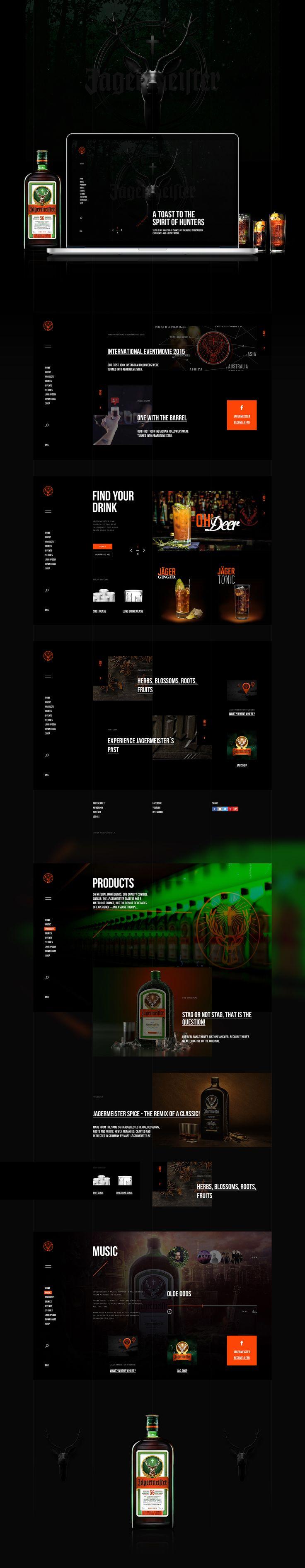 Jägermeister | Web, Сайт © ЕвгенийВольный